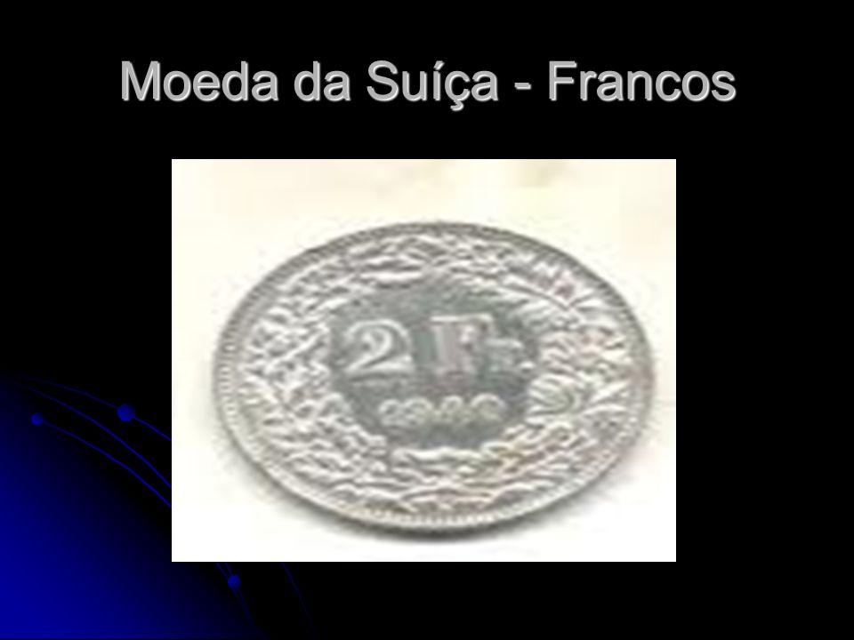 Moeda da Suíça - Francos