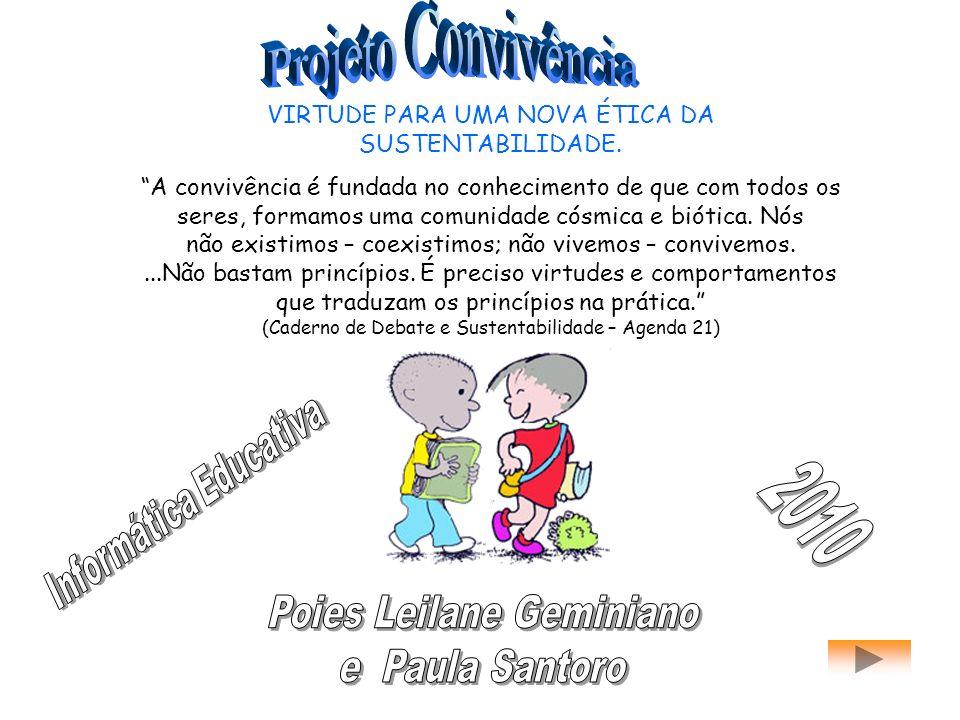 2010 Projeto Convivência Poies Leilane Geminiano e Paula Santoro