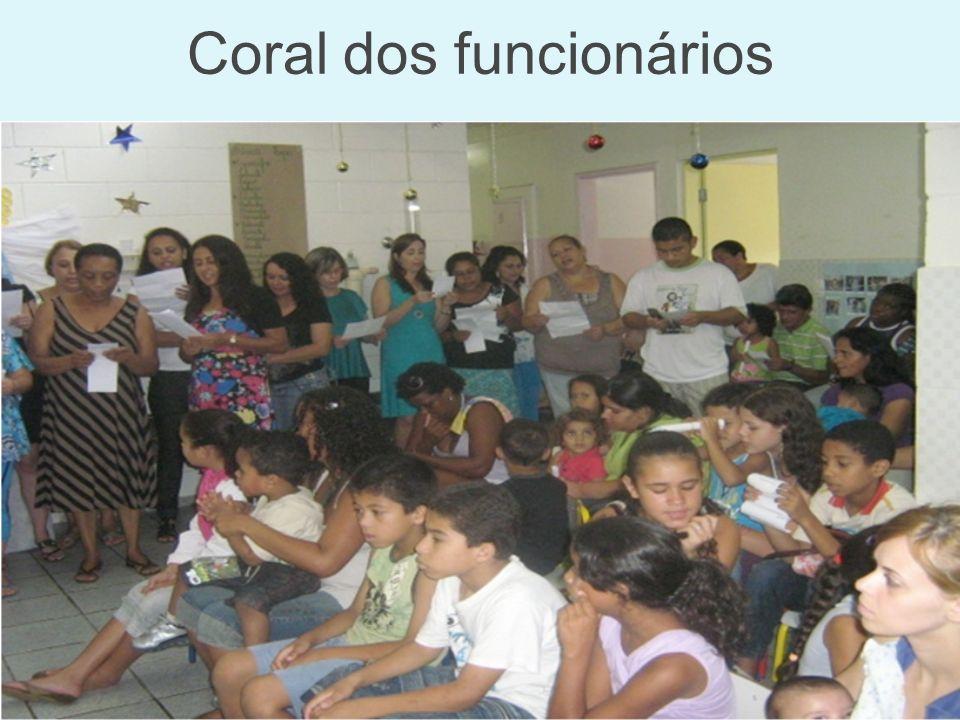Coral dos funcionários