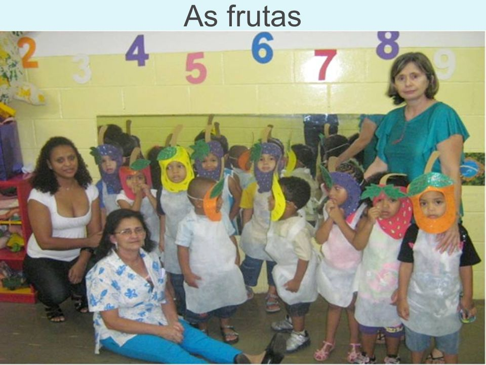 As frutas