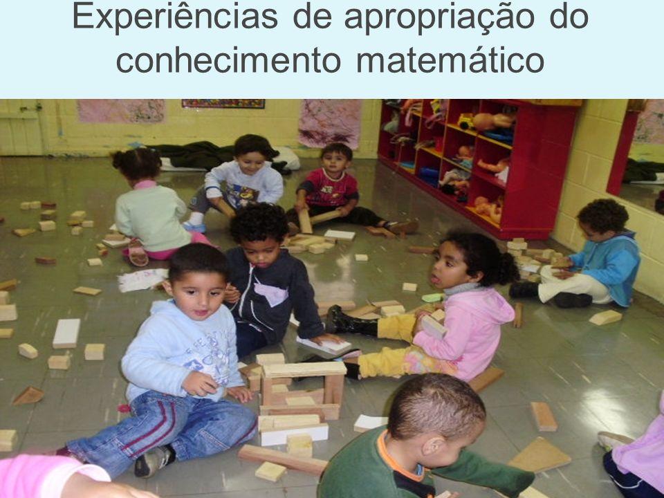Experiências de apropriação do conhecimento matemático