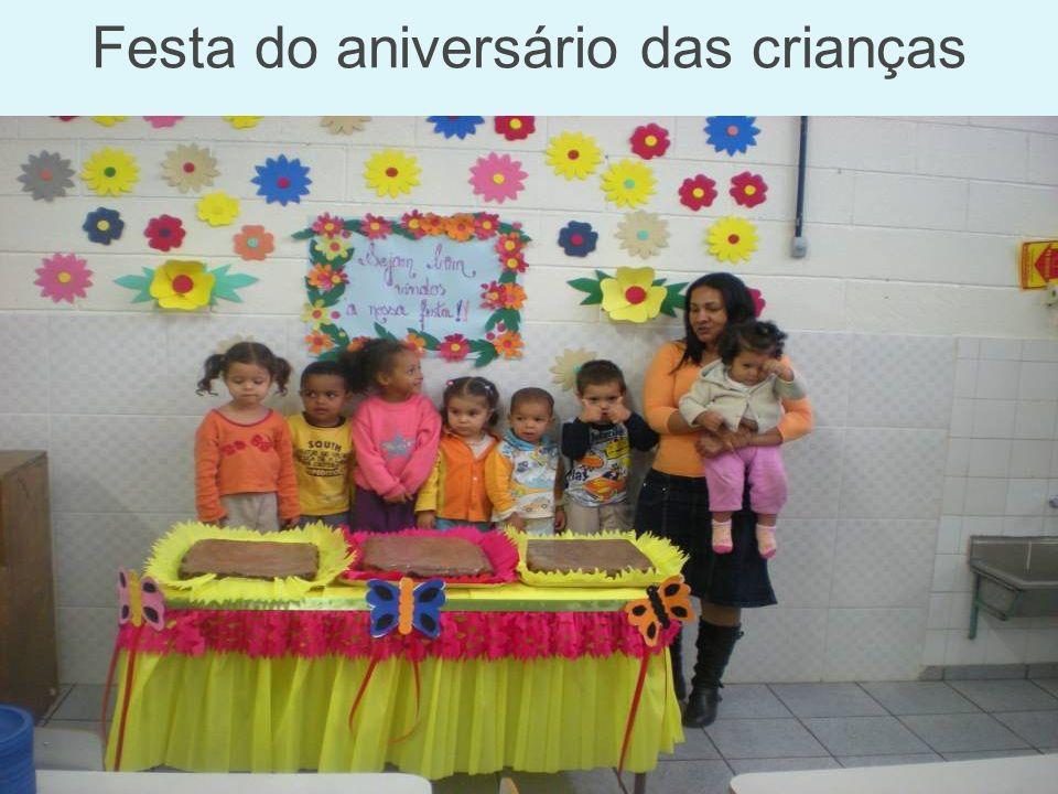 Festa do aniversário das crianças