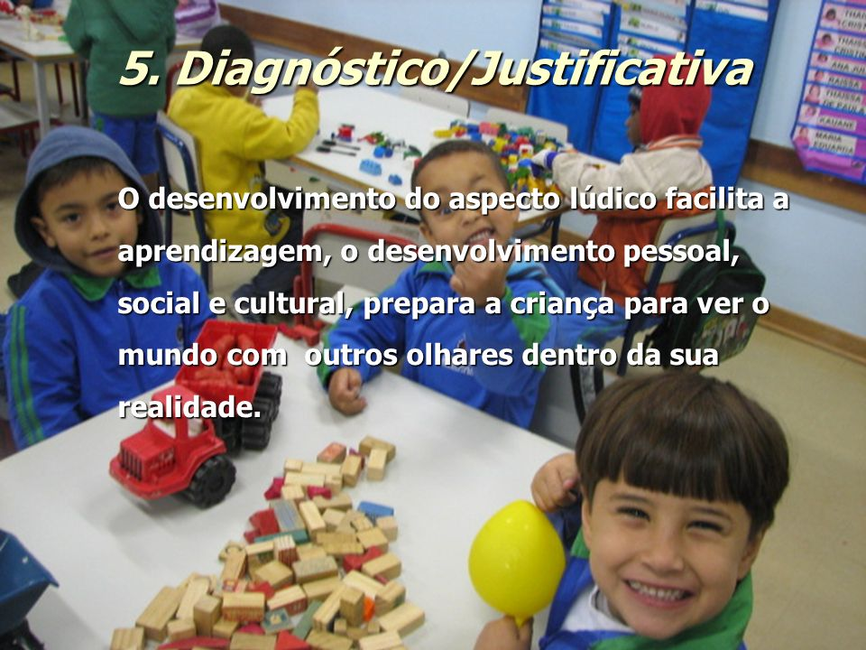5. Diagnóstico/Justificativa