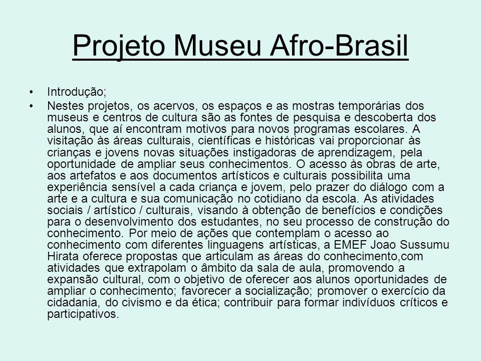 Projeto Museu Afro-Brasil