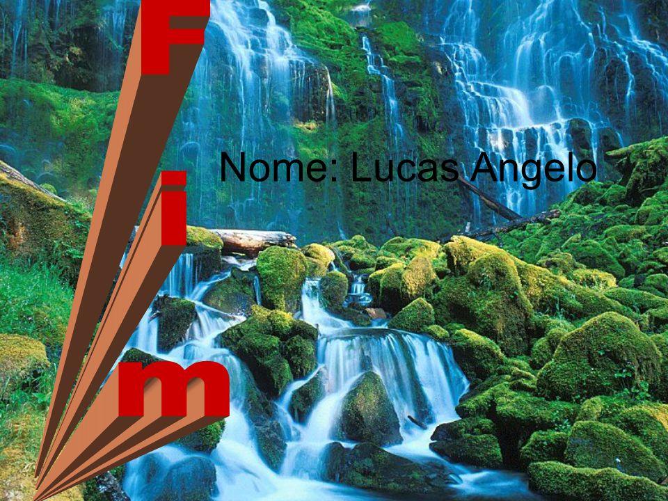 Nome: Lucas Angelo Fim