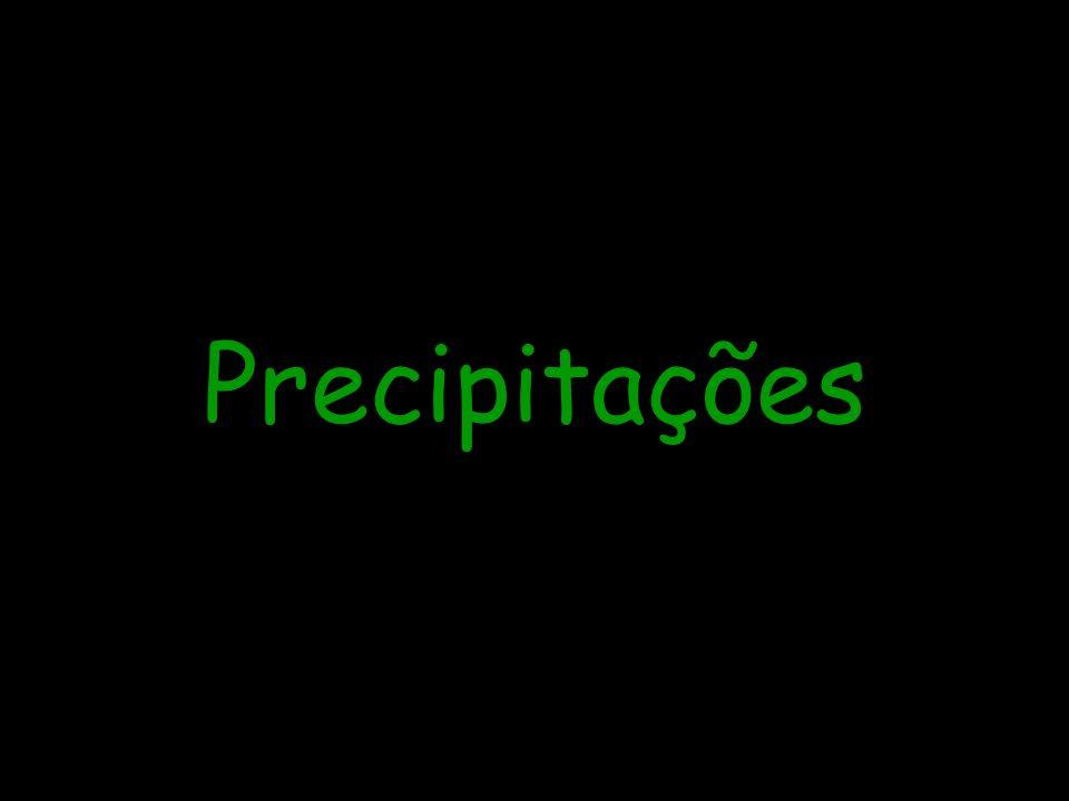 Precipitações