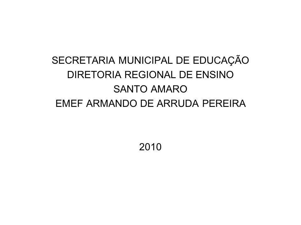 SECRETARIA MUNICIPAL DE EDUCAÇÃO DIRETORIA REGIONAL DE ENSINO