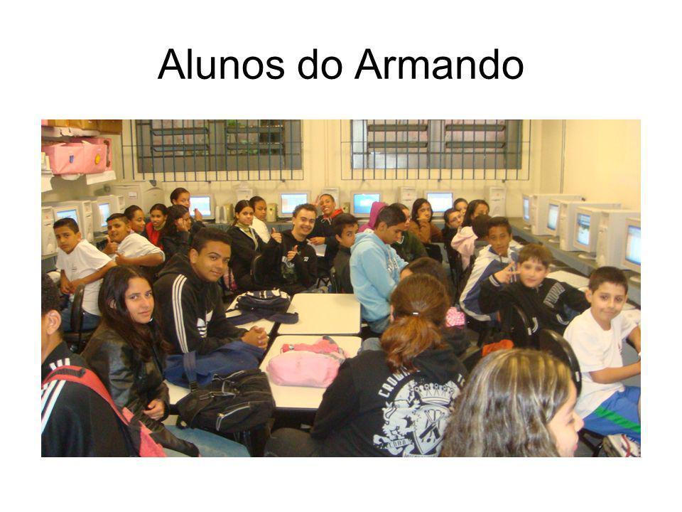 Alunos do Armando