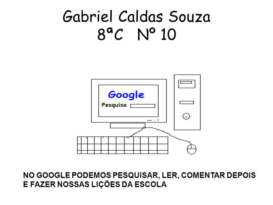 Gabriel Caldas Souza 8ªC Nº 10