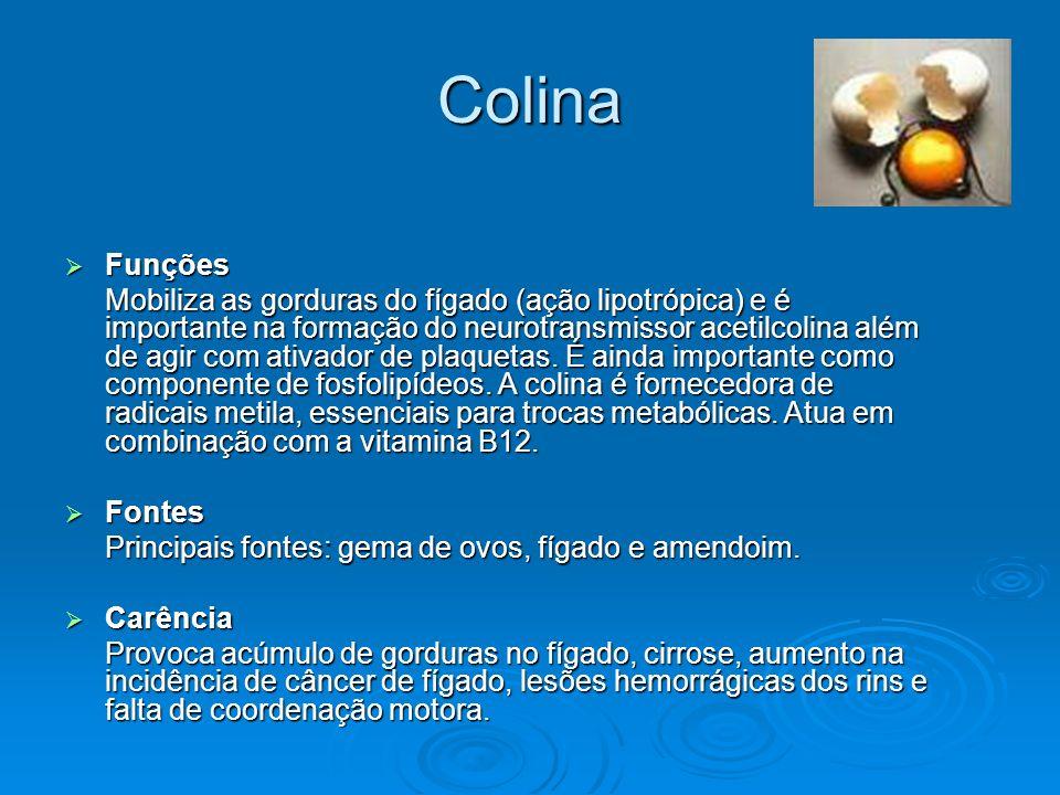 ColinaFunções.