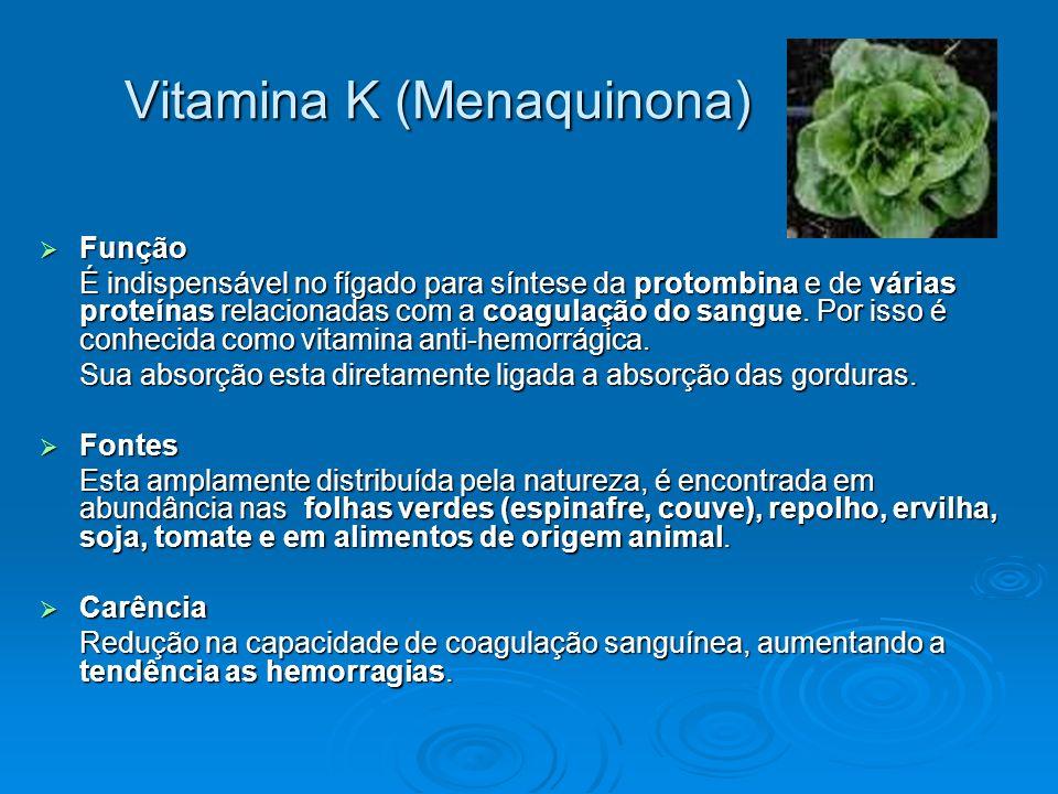 Vitamina K (Menaquinona)