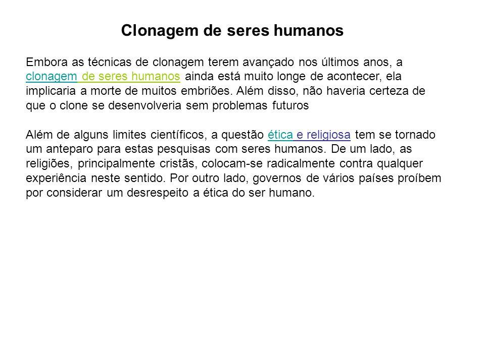 Clonagem de seres humanos