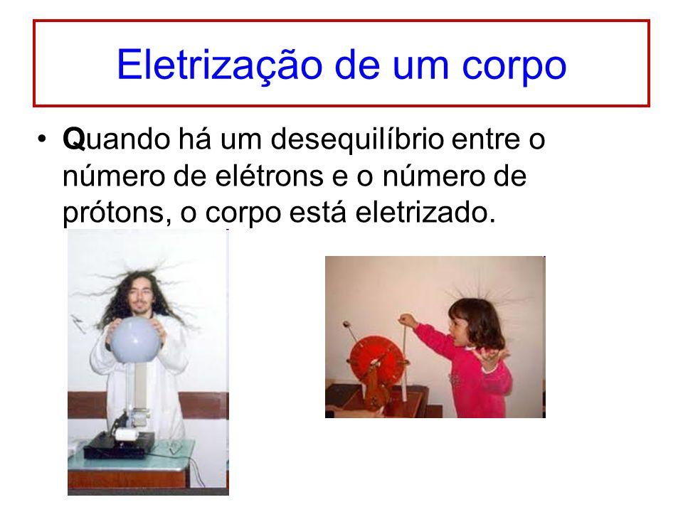 Eletrização de um corpo