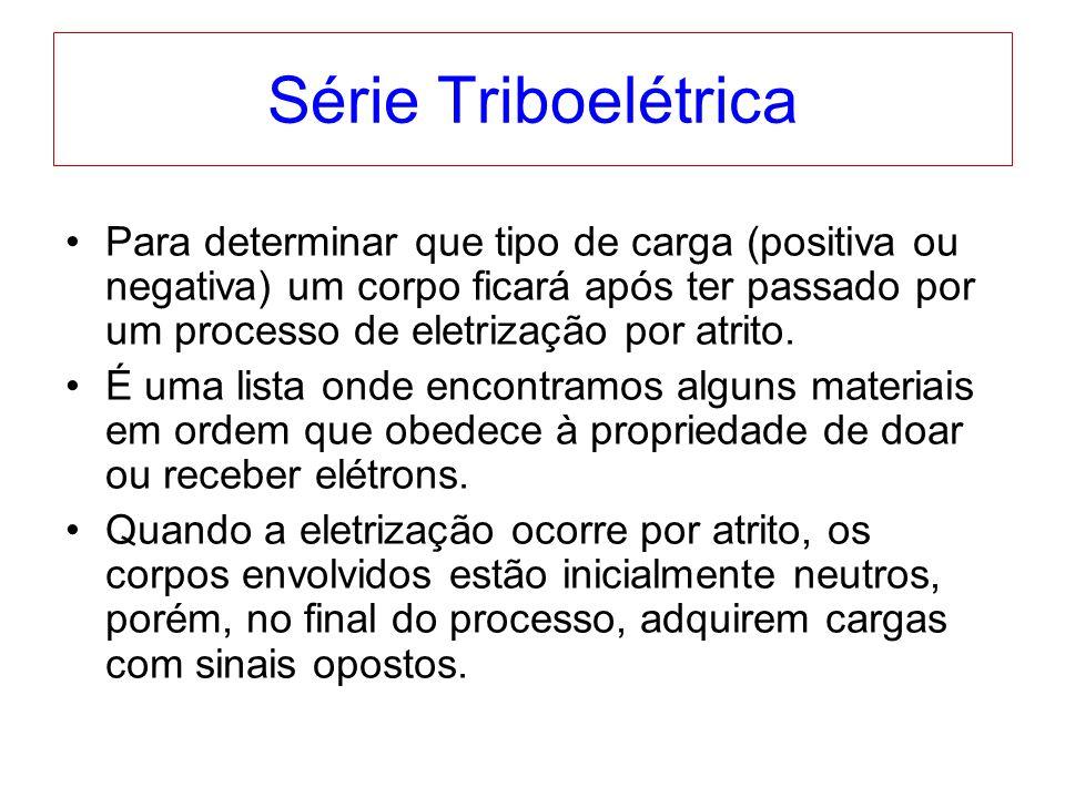 Série Triboelétrica