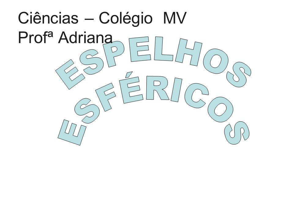 Ciências – Colégio MV Profª Adriana