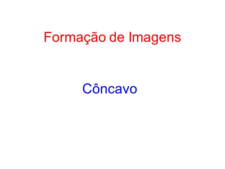 Formação de Imagens Côncavo