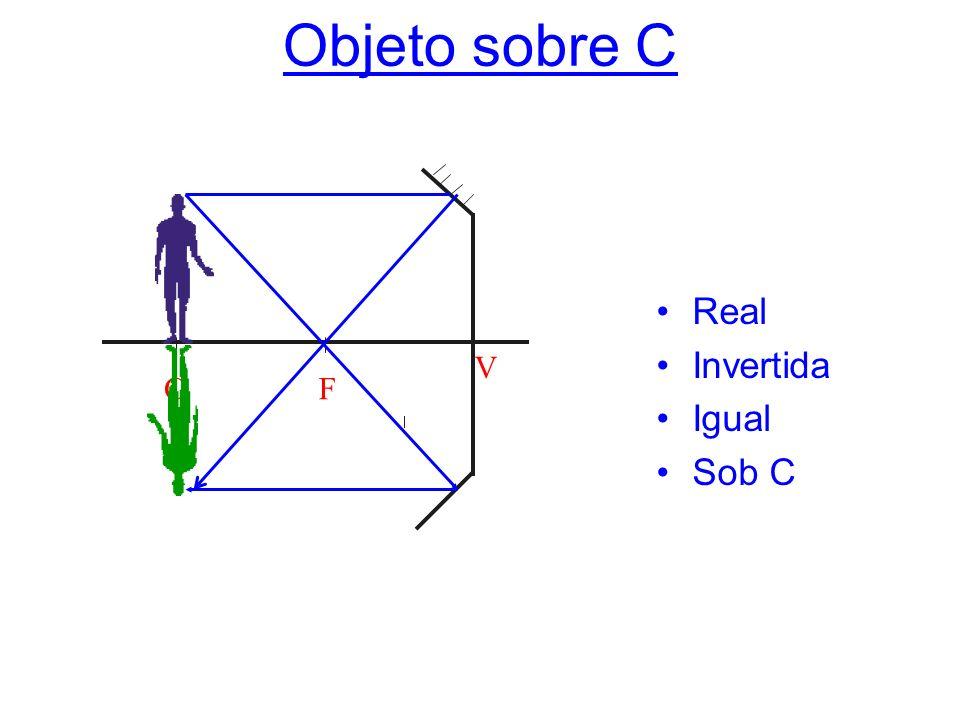 Objeto sobre C C F V Real Invertida Igual Sob C