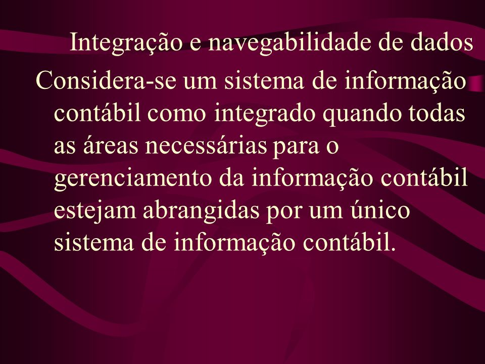 Integração e navegabilidade de dados