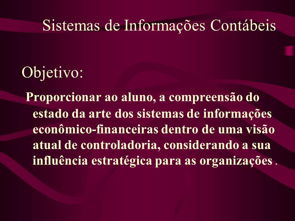Sistemas de Informações Contábeis