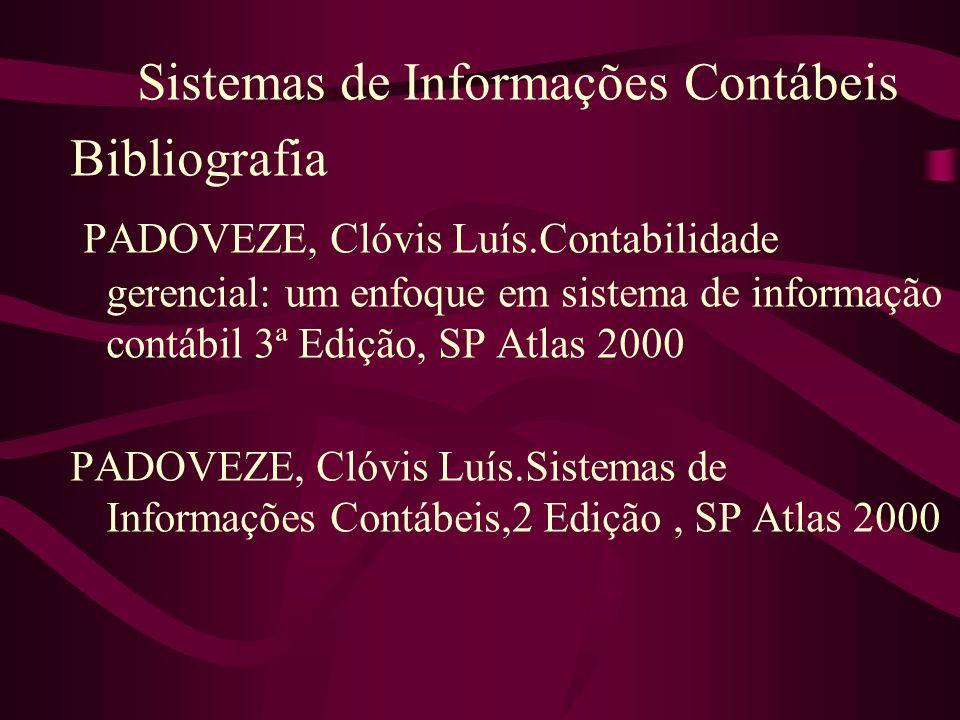 Sistemas de Informações Contábeis Bibliografia