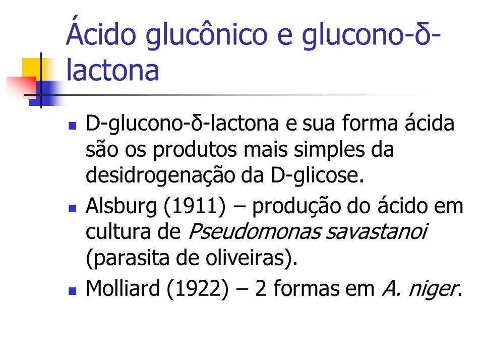 Ácido glucônico e glucono-δ-lactona