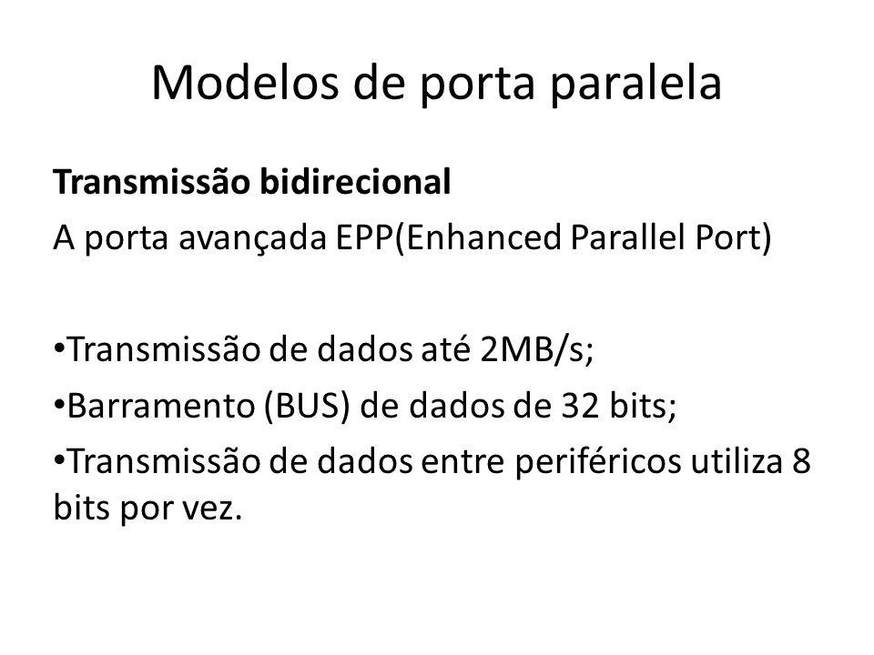 Modelos de porta paralela
