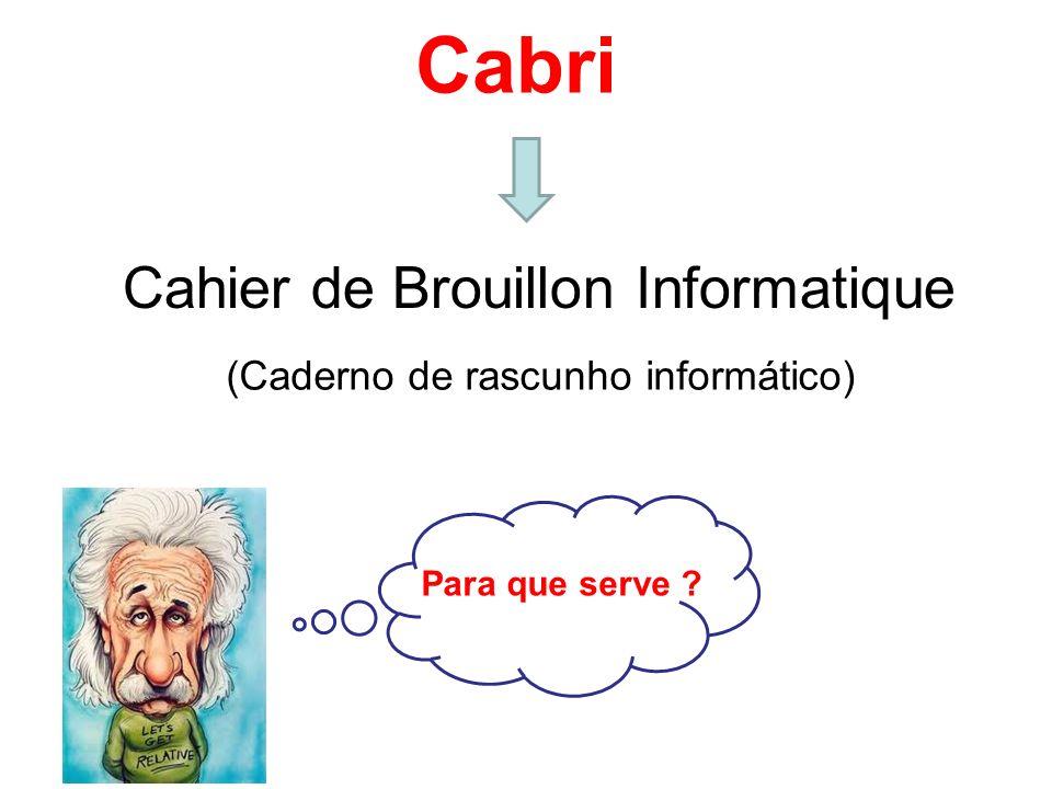 Cabri Cahier de Brouillon Informatique