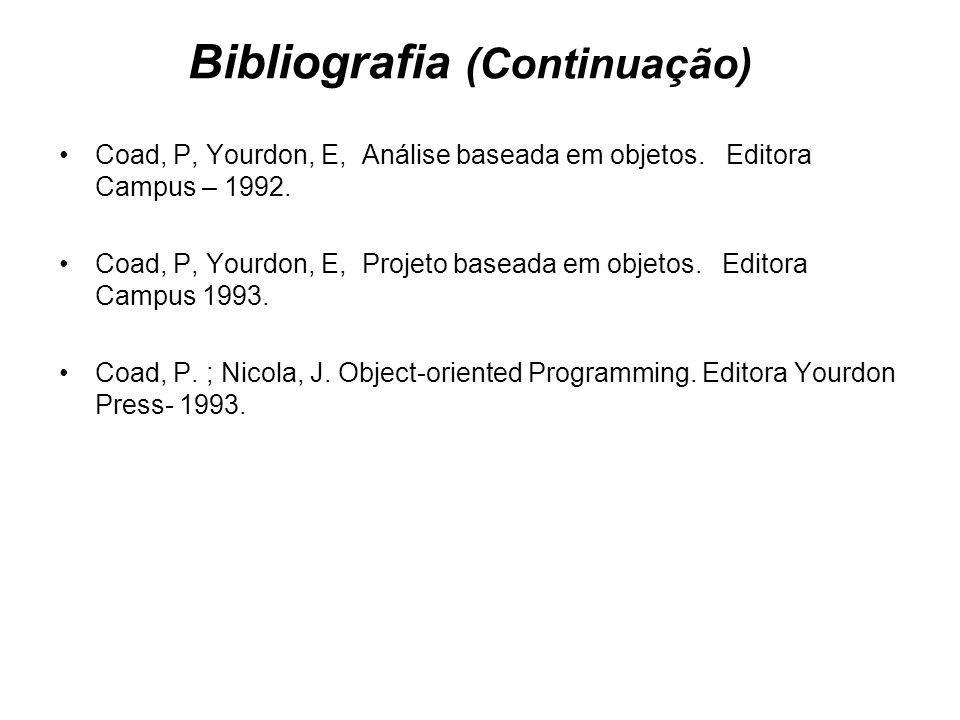 Bibliografia (Continuação)