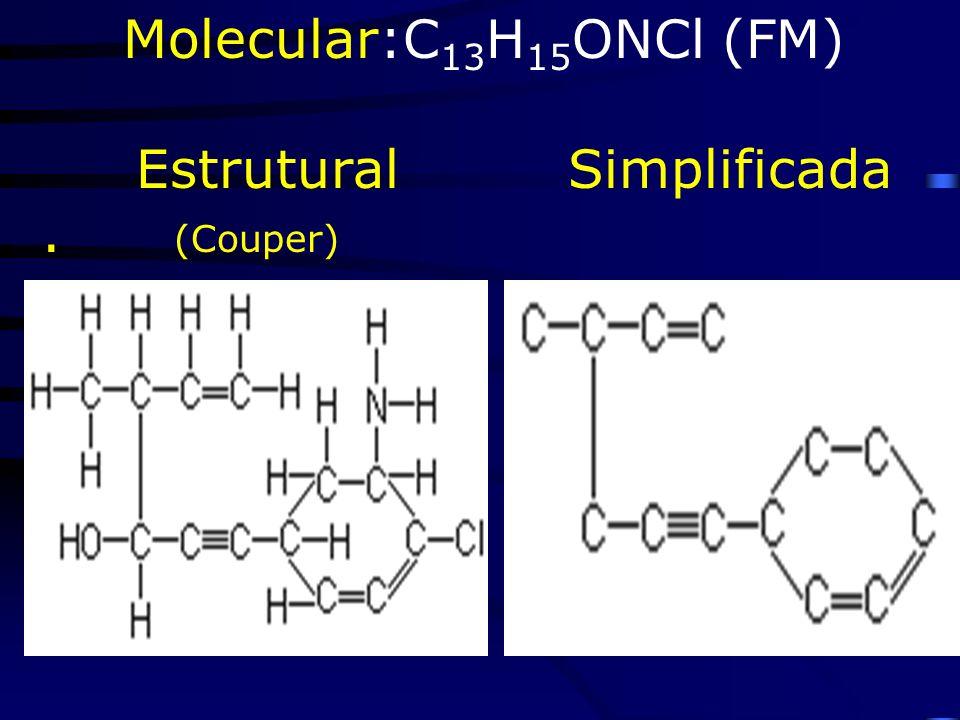 Molecular:C13H15ONCl (FM)