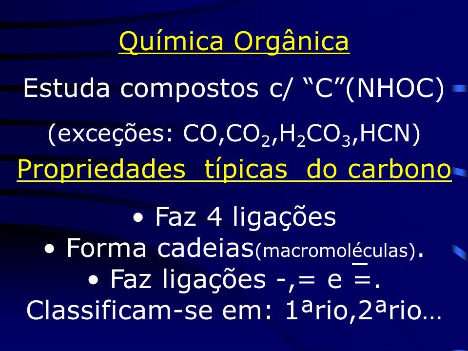 Estuda compostos c/ C (NHOC)