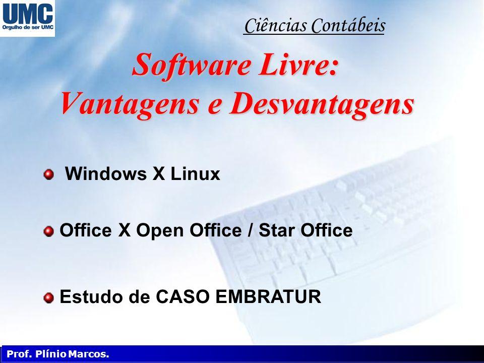 Software Livre: Vantagens e Desvantagens