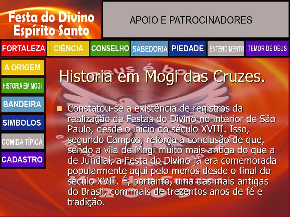 Historia em Mogi das Cruzes.