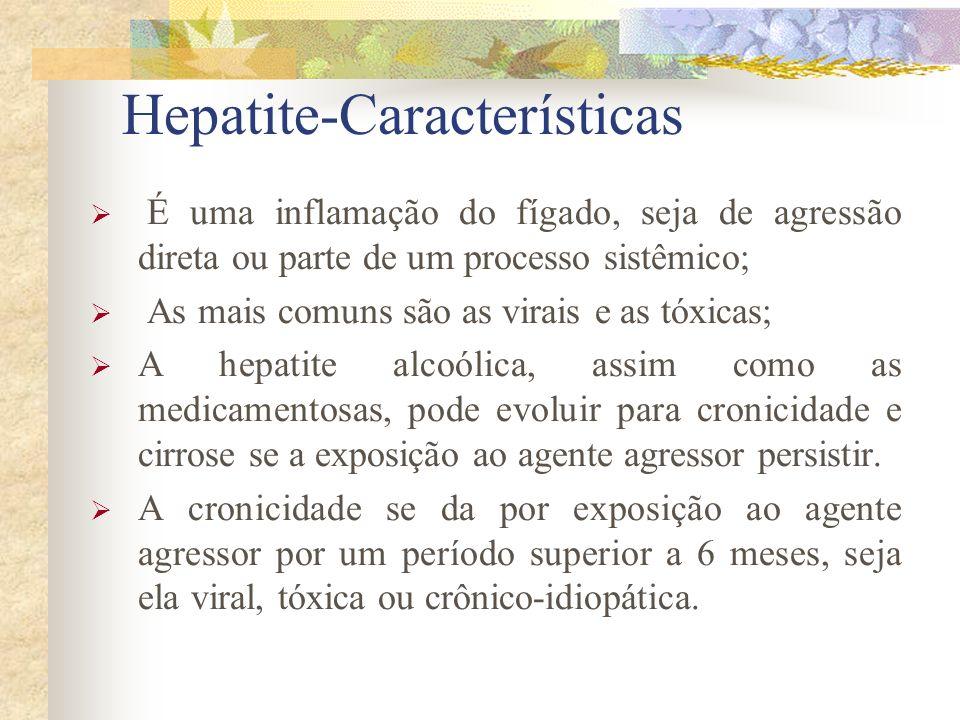 Hepatite-Características