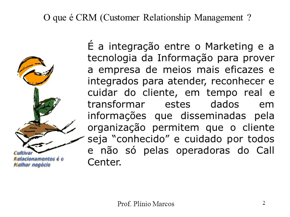 O que é CRM (Customer Relationship Management