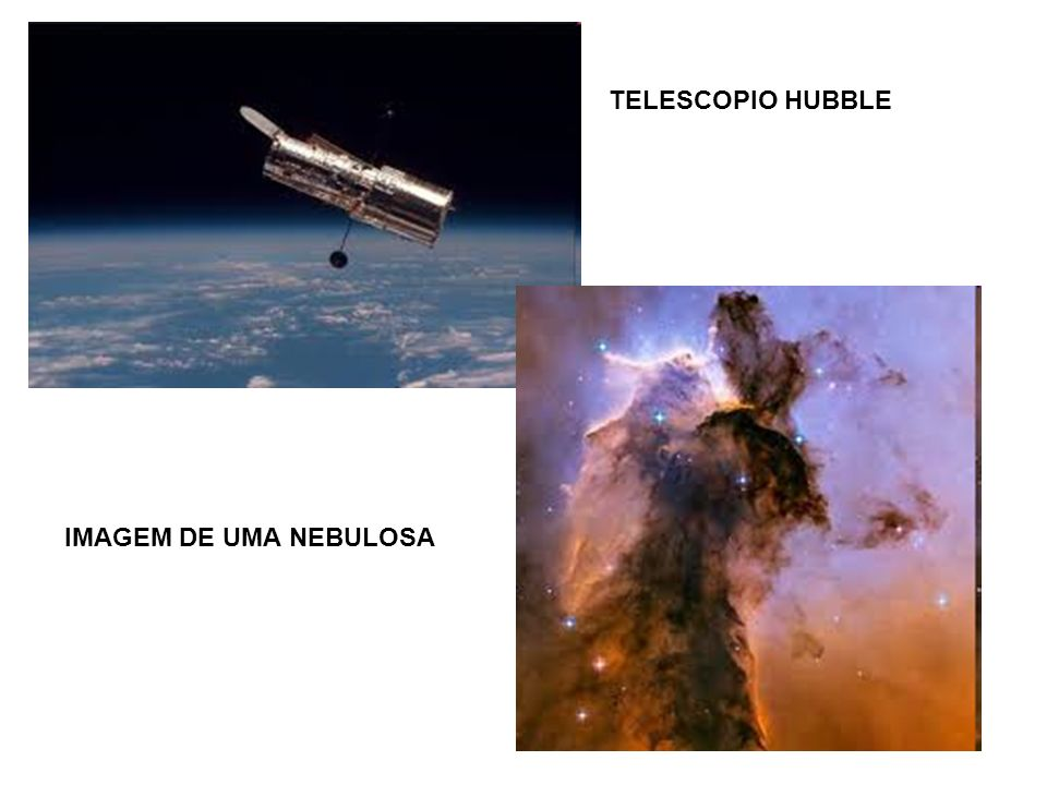 TELESCOPIO HUBBLE IMAGEM DE UMA NEBULOSA