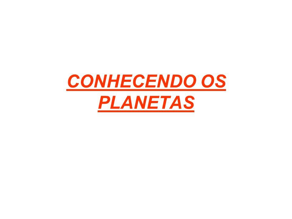 CONHECENDO OS PLANETAS