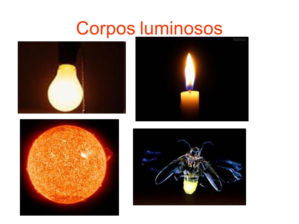 Corpos luminosos