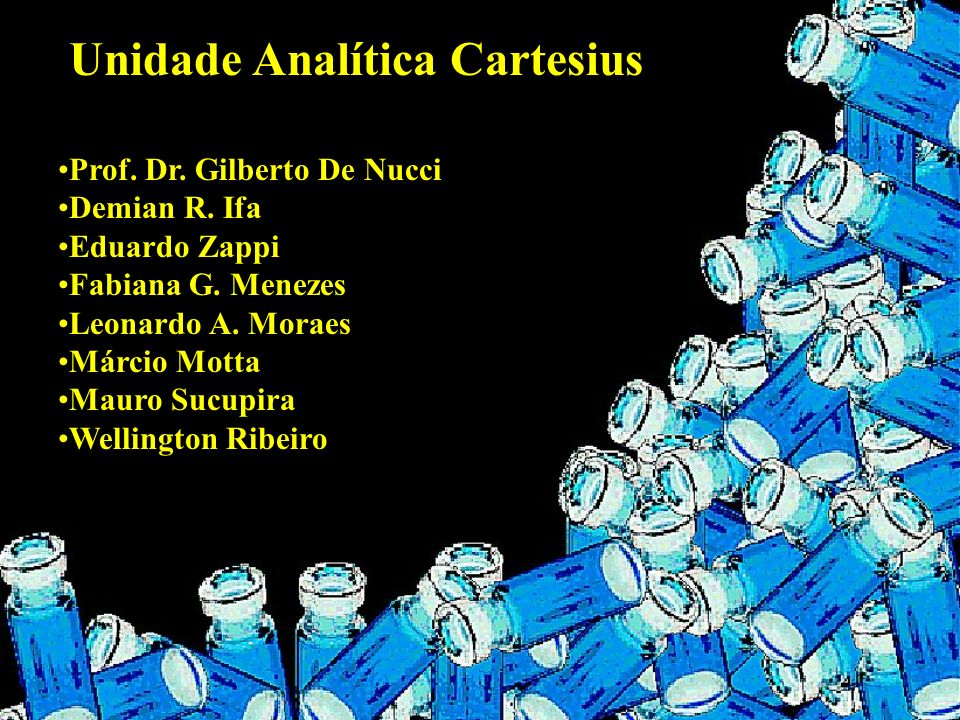 Unidade Analítica Cartesius