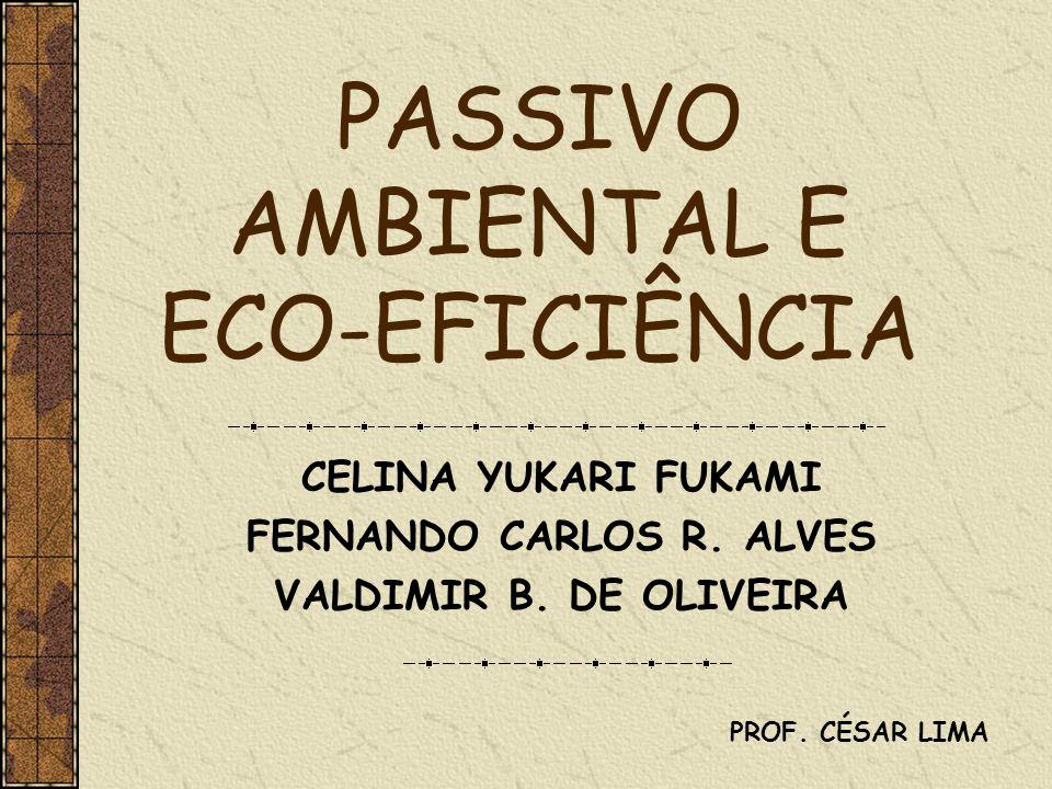 PASSIVO AMBIENTAL E ECO-EFICIÊNCIA