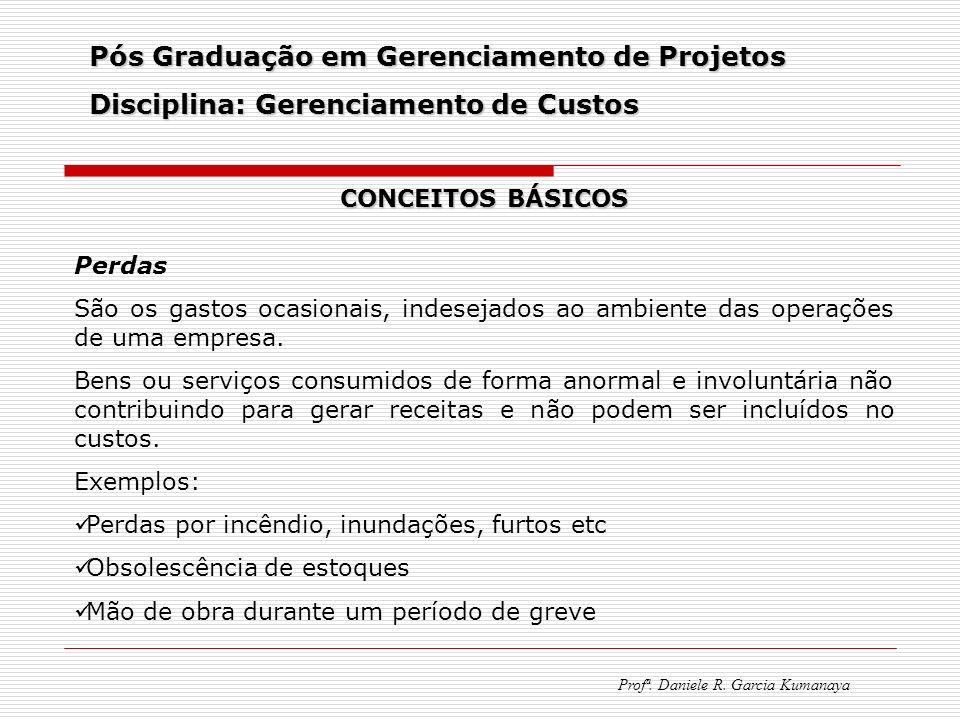 Pós Graduação em Gerenciamento de Projetos