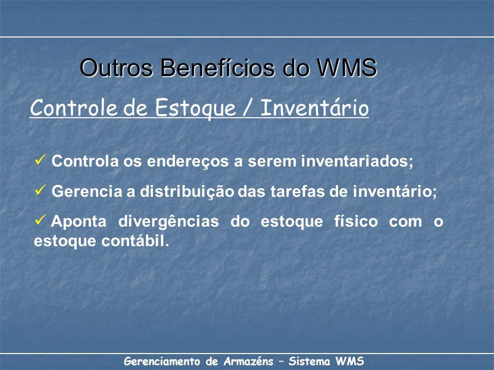 Outros Benefícios do WMS
