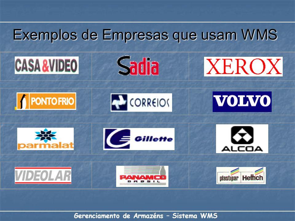 Exemplos de Empresas que usam WMS