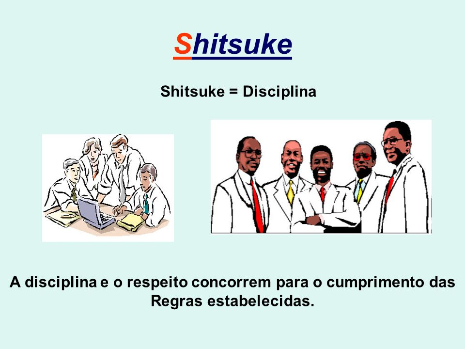 A disciplina e o respeito concorrem para o cumprimento das