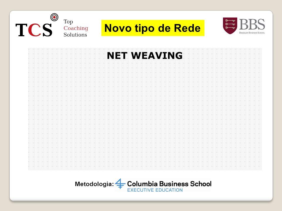 Novo tipo de Rede NET WEAVING Metodologia: 31 31