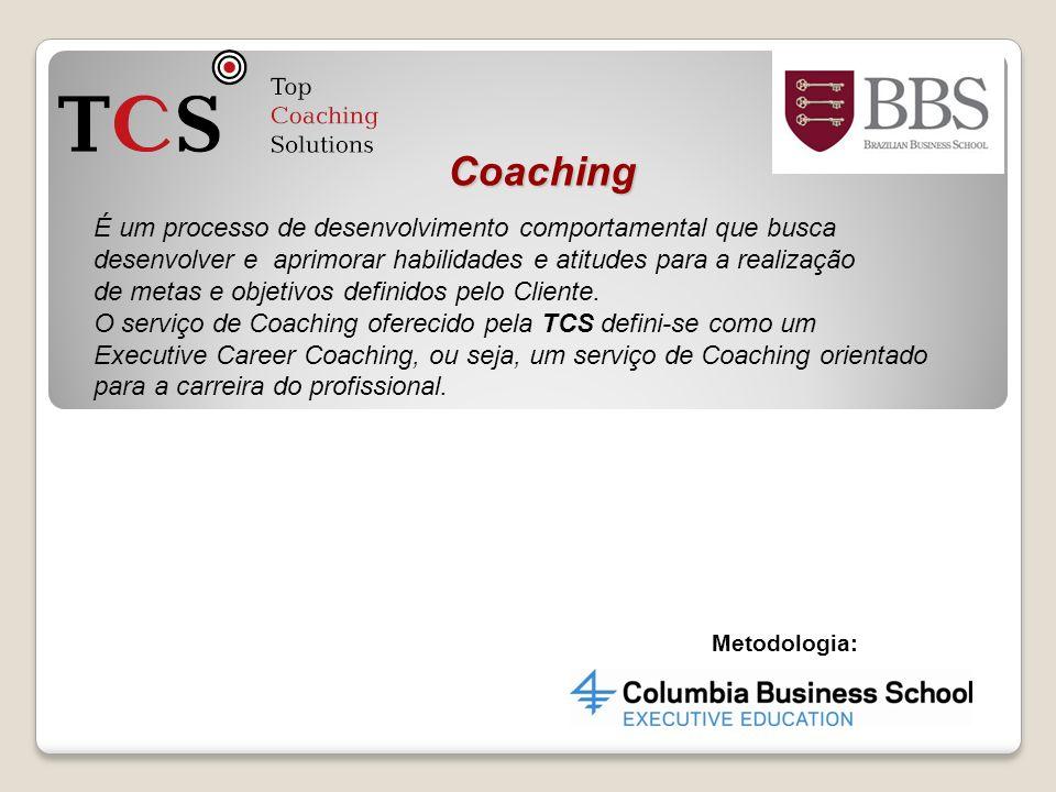Coaching É um processo de desenvolvimento comportamental que busca