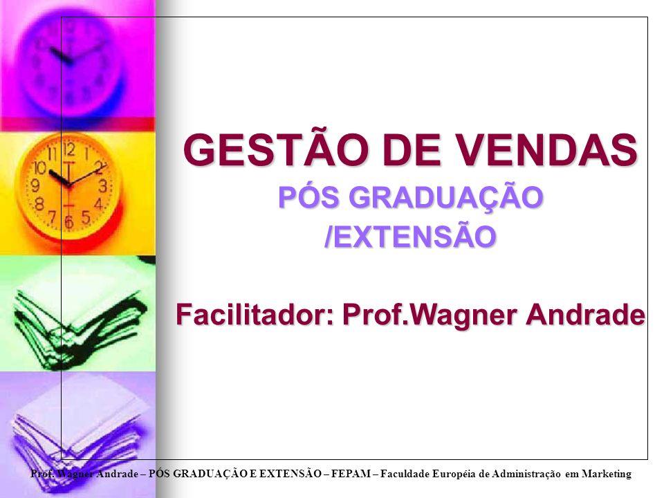 Facilitador: Prof.Wagner Andrade