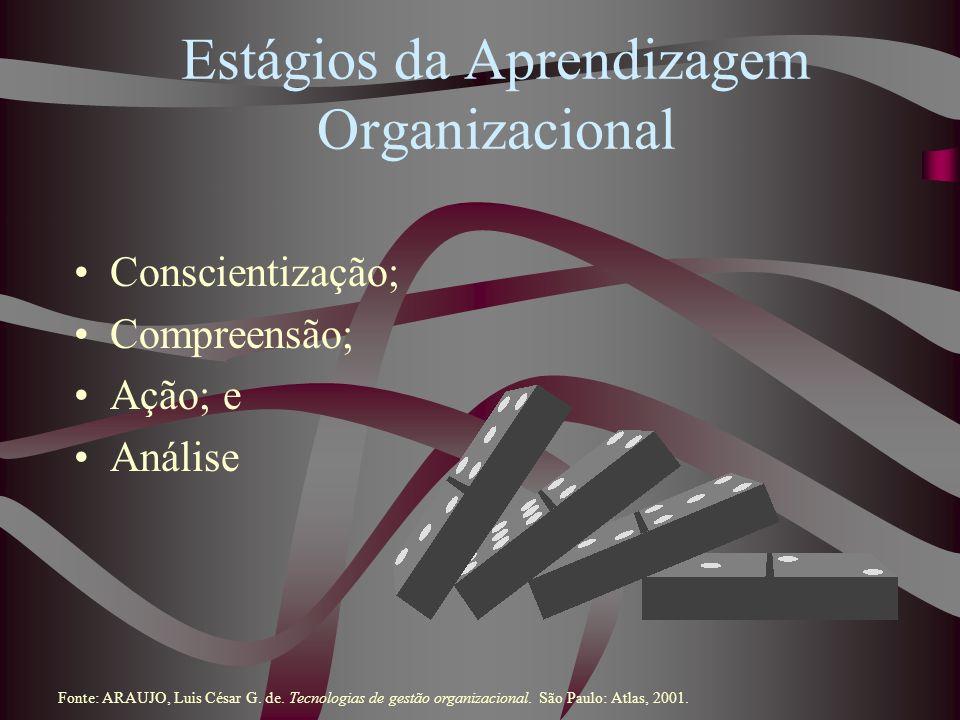 Estágios da Aprendizagem Organizacional