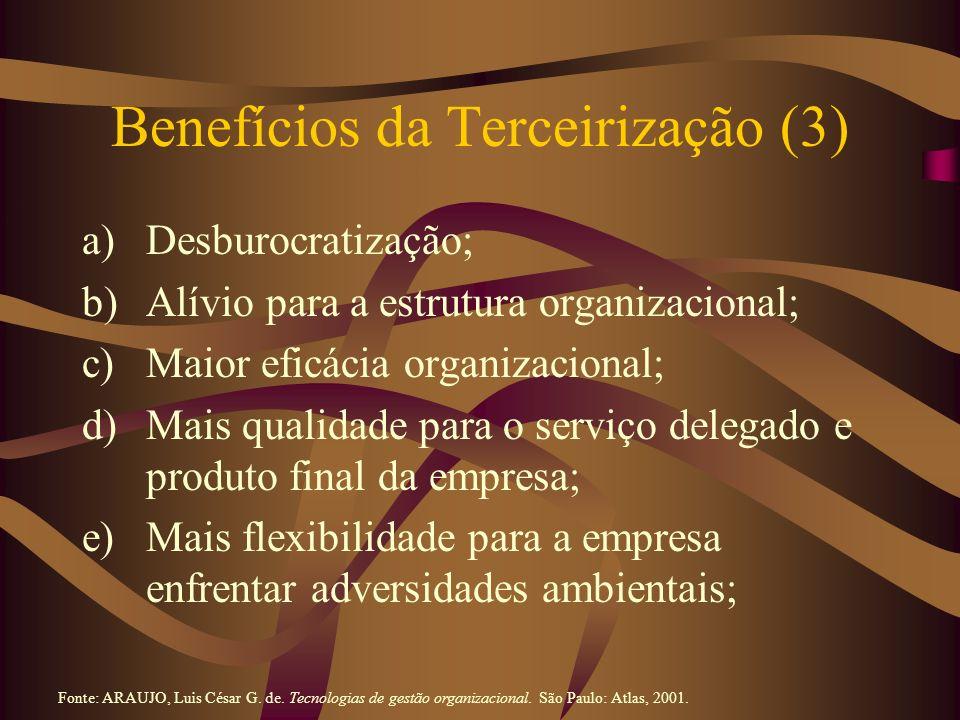 Benefícios da Terceirização (3)