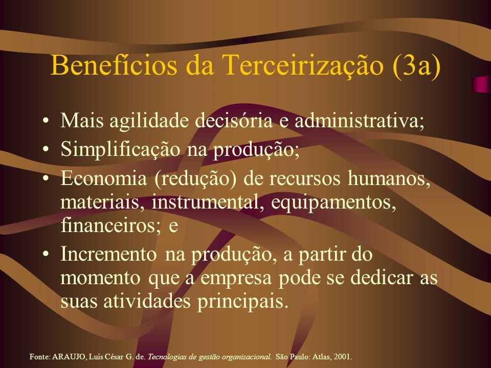 Benefícios da Terceirização (3a)