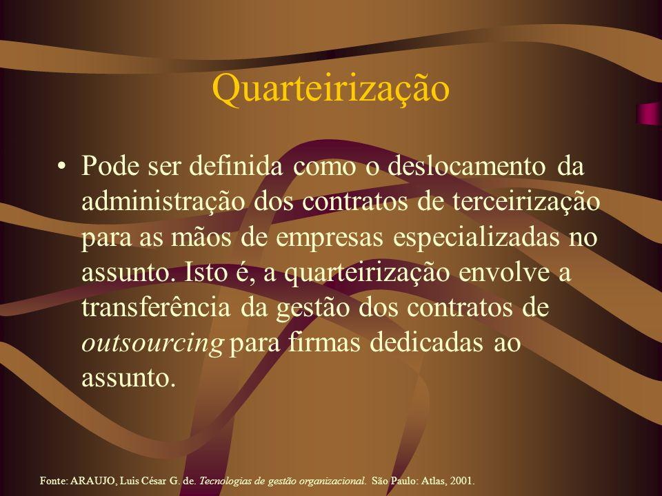 Quarteirização